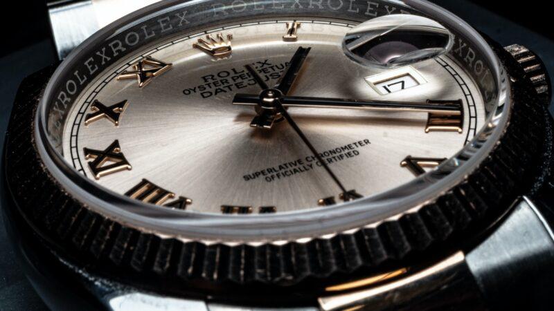 Olof Larsson på Nymans ur -exklusiva klockor
