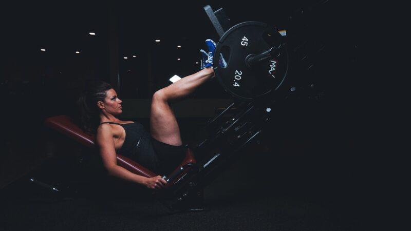 Gummigolv på gymmet